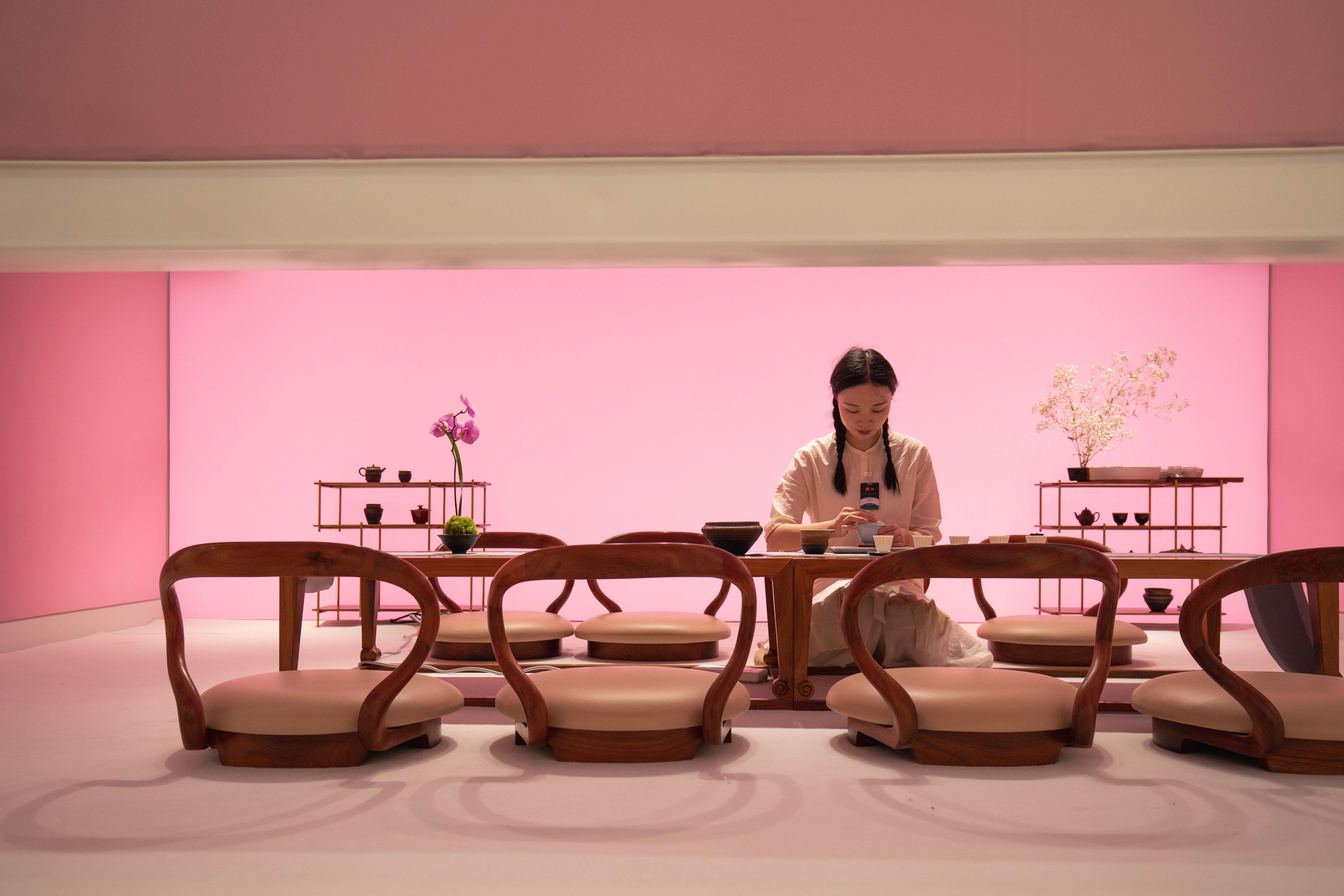 """一饮一味皆自然 璞素茶事登陆""""设计上海""""2021"""