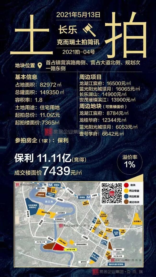 长乐-滨拍2021-号地块