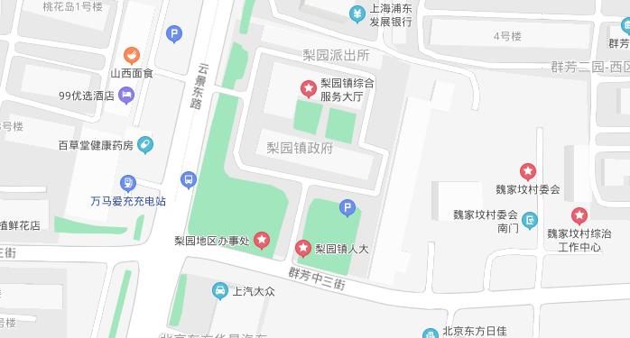 通州城市副中心0302街区地块位置图