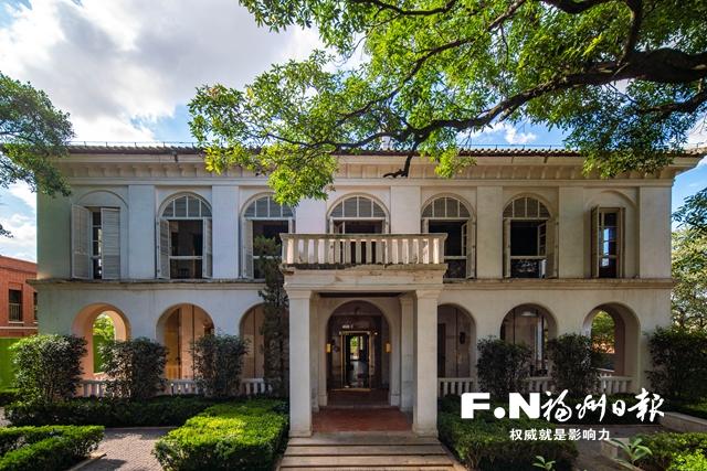 爱国路2号是原美国领事馆,修缮后成为烟台山历史博物馆。记者 林双伟 摄