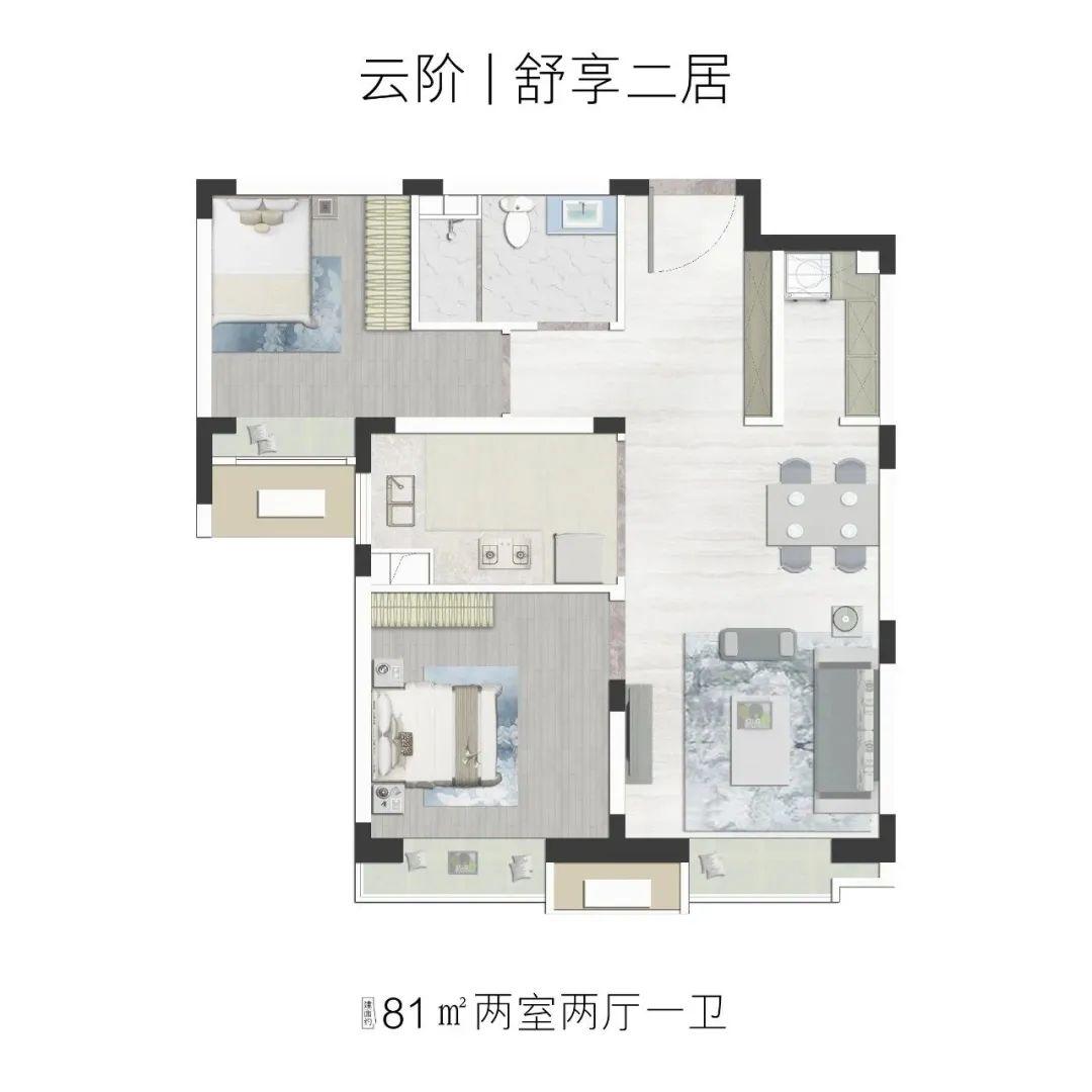 北清云际户型图