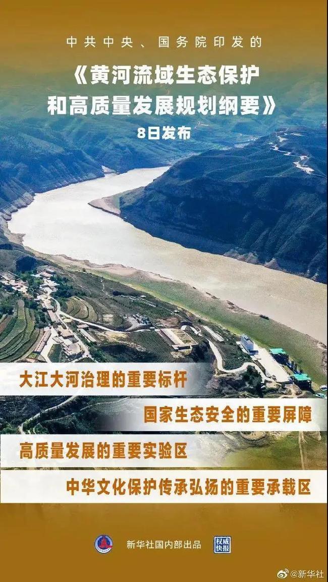 黄河重大国家战略纲要来了