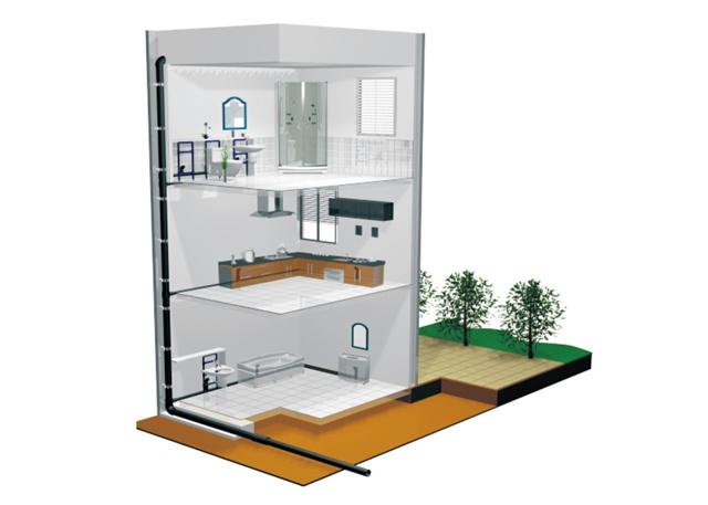 優化建筑排水,聯塑同層排水系