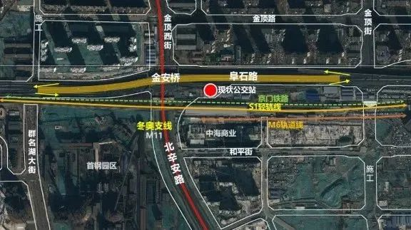 金安桥打造轨道微中心示