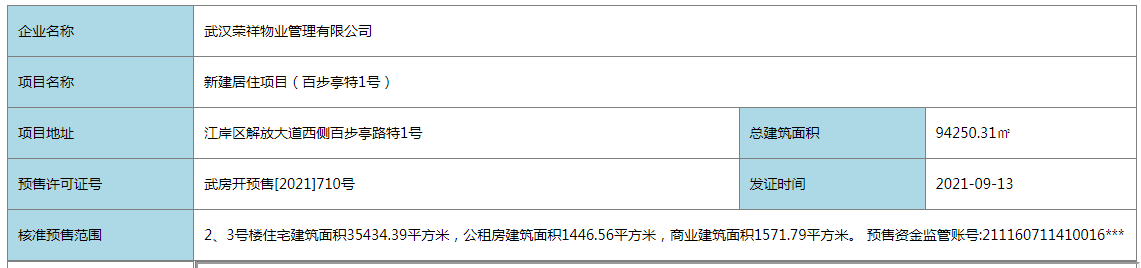 江印新取预售证