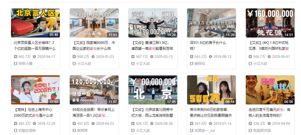 北京豪宅元素爱用哪些元素