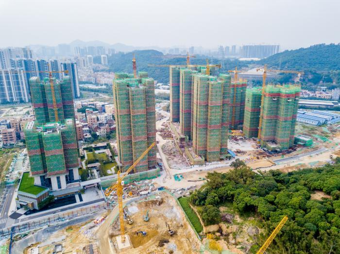 """在持续不断的调控下,房地产市场终于从""""量变""""转为""""质变""""。视觉中国"""