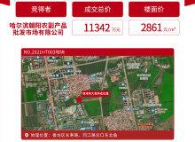 市场成交|3月8-14日 哈尔滨房价稳步上扬 香坊区成交1.1亿地块