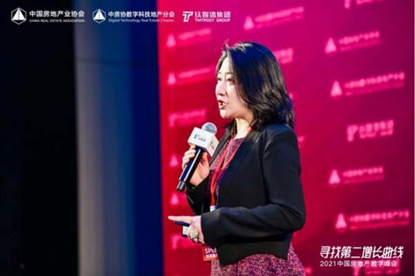 中国房地产业协会副会长,远大住工董事、总裁唐芬