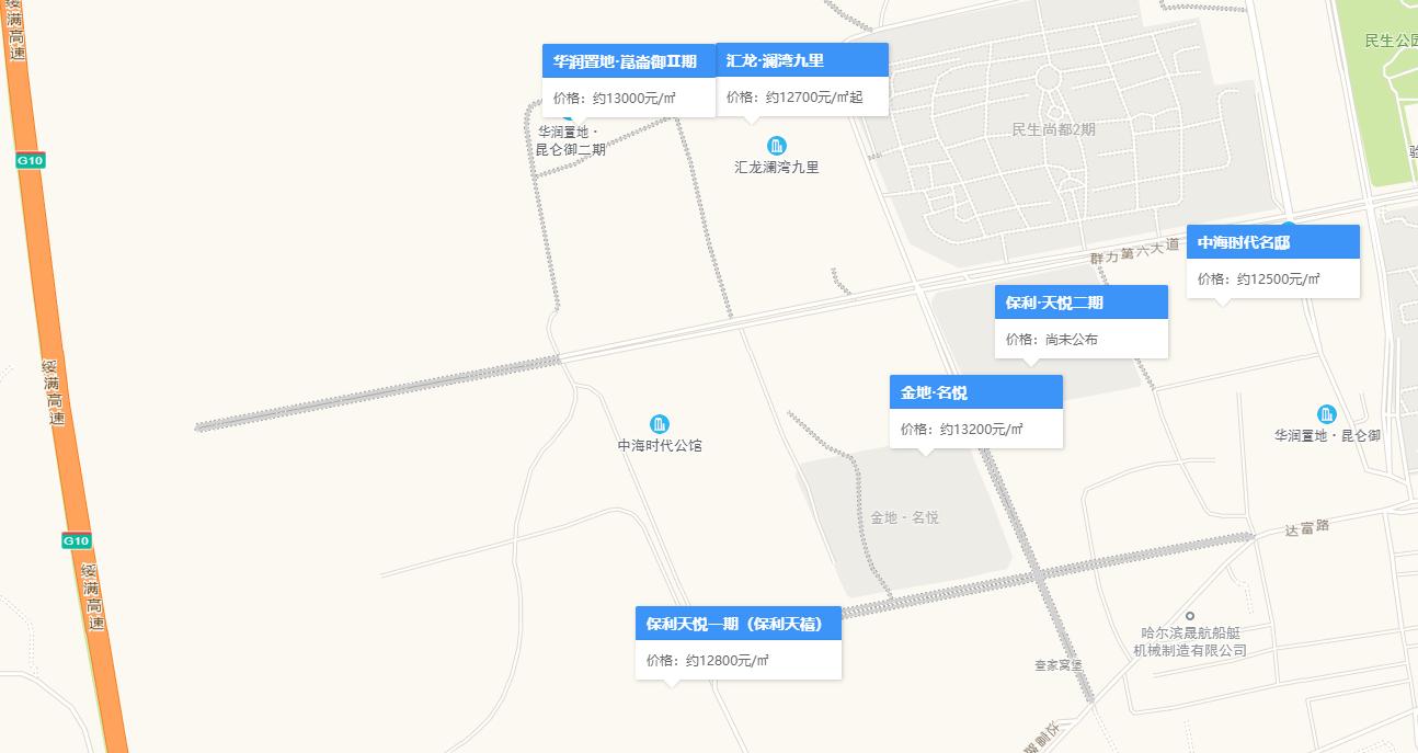 哈尔滨群力西规划拟调整
