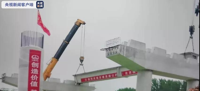 京雄高速北京段已经进入桥