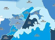 武汉最新房价地图曝光!5大区域几乎全线上涨!