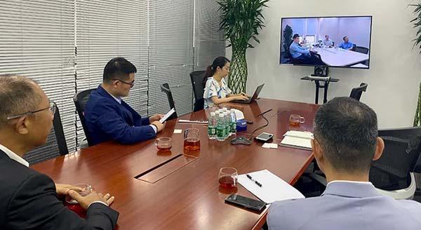 委员会成员企业平安不动产与中德住房储蓄银行召开视频沟通会