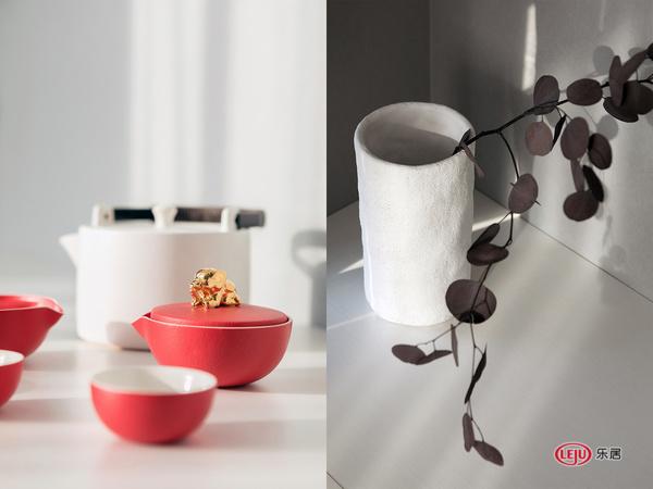 杨婷作品   祖母绿+象牙白 艺术风的质感之家