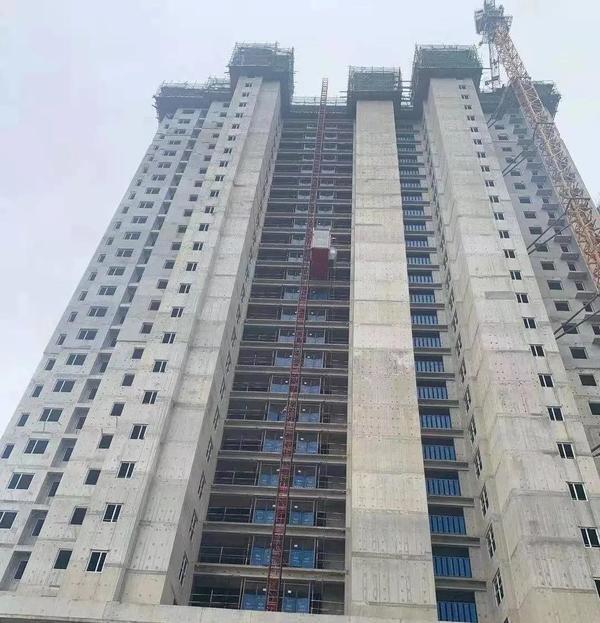 雍锦湾三月份工程进度