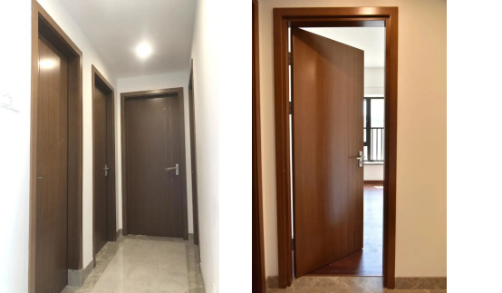 《【杏耀在线登陆注册】领尚木门工程案例|外修颜值内敛气质,将品质注入城市精英的家》