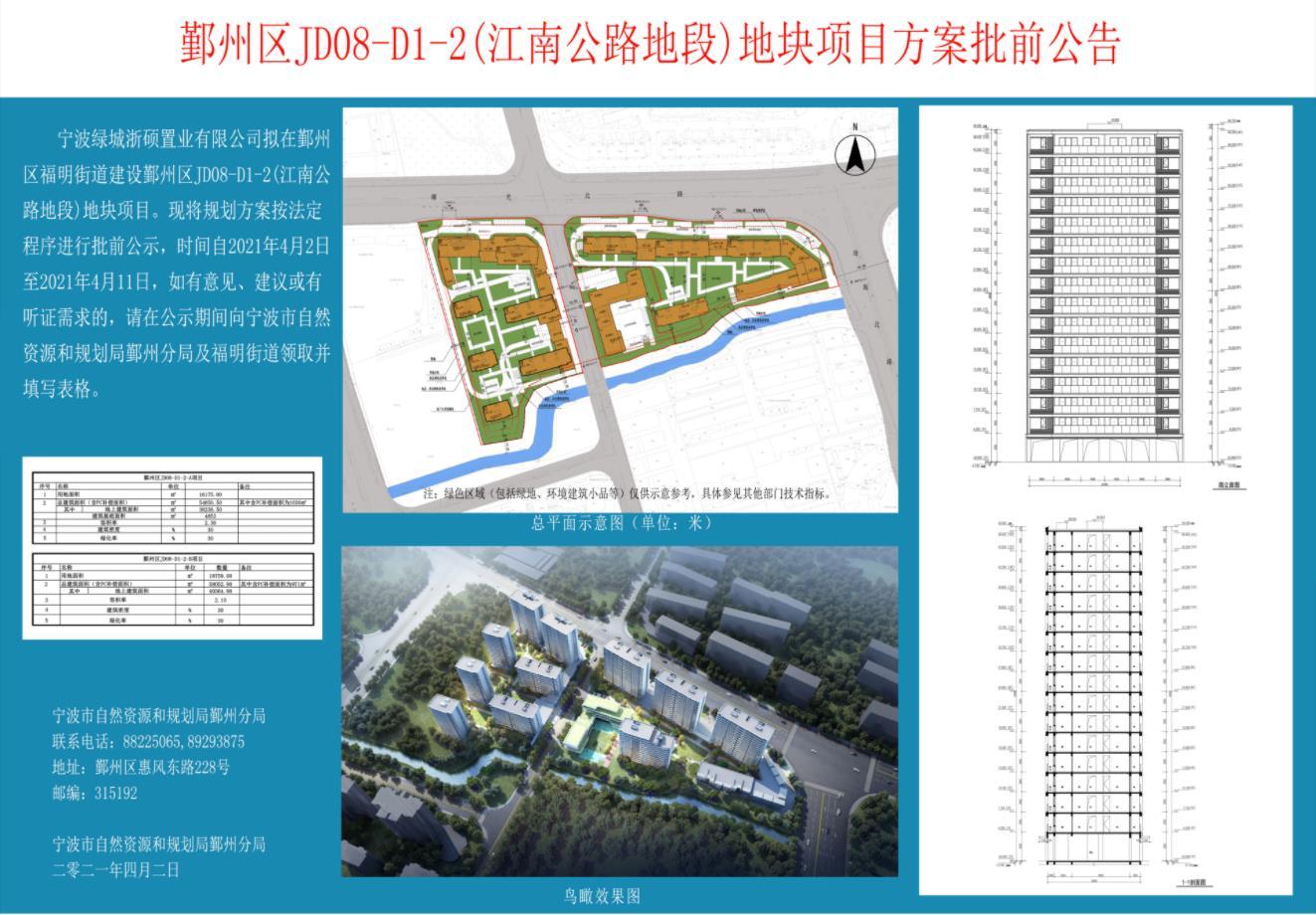 绿城鄞州江南公路地段项目规划