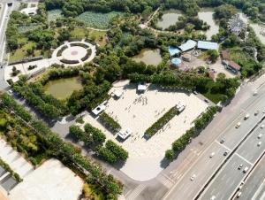 八大山人广场拟建地下公共停车场