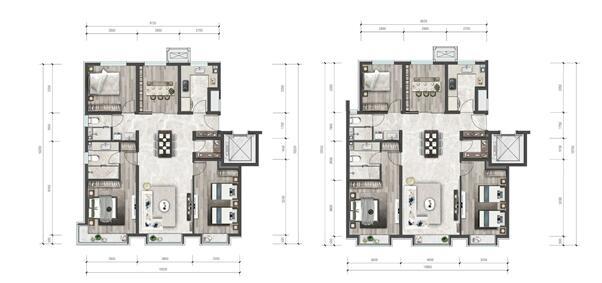 131平四居户型图(点开可放大)