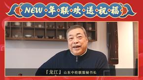 山东中经联盟秘书长龙江给各位地产圈朋友拜年啦