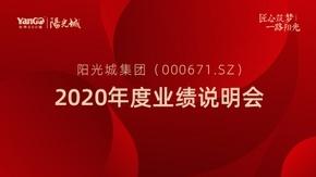 阳光城2020年度业绩发布会