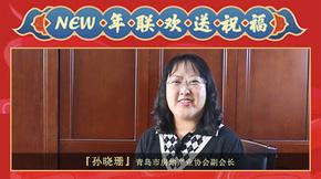 青岛市房地产业协会副会长孙晓珊给您拜年啦