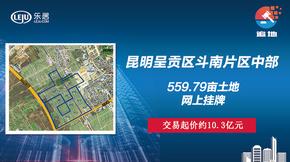 图文直播|呈贡斗南560亩地网上挂牌