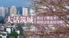 大话筑城丨错过了樱花季?别错过优选好房啦!