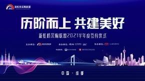 新虹桥采购联盟2021半年度战略签约仪式